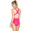 speedo Essential Endurance+ Medalist Swimsuit Women Electric Pink